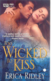 Too Wicked to Kiss by Erica Ridley image