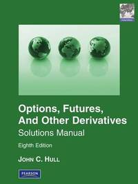 Solutions Manual for Options, Futures & Other Derivatives Global Edition by John Hull
