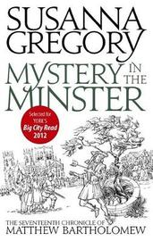Mystery In The Minster by Susanna Gregory image