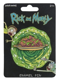 Rick and Morty: Enamel Pin - Eyeball Holes