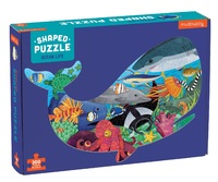 Mudpuppy: 300-Piece Shaped Scene Puzzle - Ocean Life