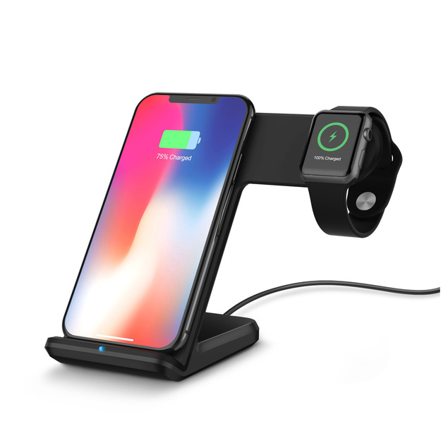 Ape Basics: 2 in 1 wireless charging stand Pro