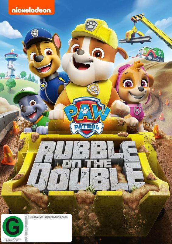 Paw Patrol - Rubble On The Double! on DVD