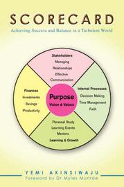 Scorecard: Achieving Success and Balance in a Turbulent World by Yemi Akinsiwaju image