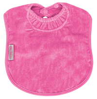 Silly Billyz Towel Large Bib (Cerise)