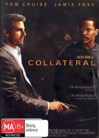 Collateral (Single Disc) on DVD image