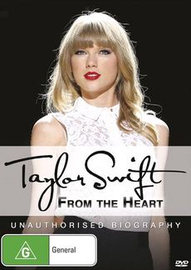 Taylor Swift: From the Heart on DVD