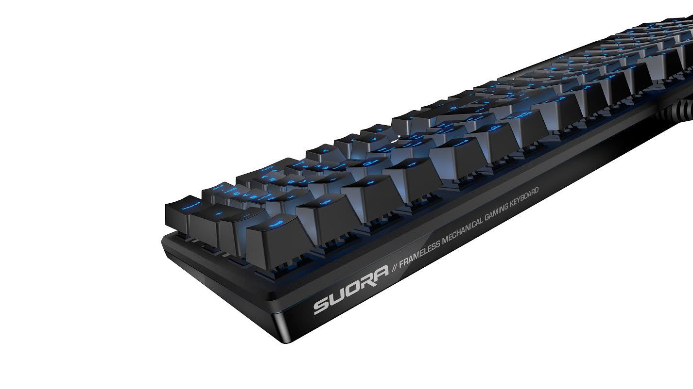 ROCCAT Suora – Frameless Mechanical Gaming Keyboard for PC Games image