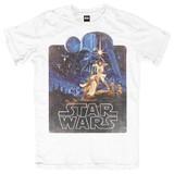 Star Wars Retro Poster T-Shirt (Large)