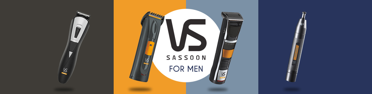 VS Sassoon Banner for Men
