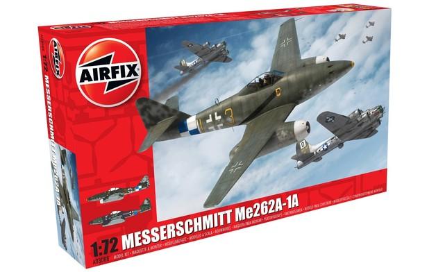 Airfix 1:72 Messerschmitt Me262A 1a Model Kit