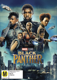 Black Panther on DVD image