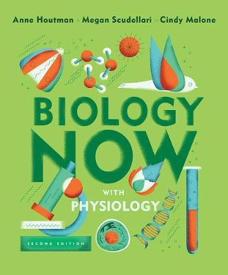Biology Now with Physiology by Anne Houtman image