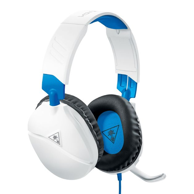 Turtle Beach Ear Force Recon 70P Stereo Gaming Headset (White) for PS4