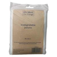 Become The Change - Biodegradable Rain Poncho