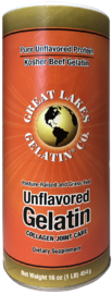 Great Lakes: Gelatin Unflavoured Kosher Beef Gelatin (454g)