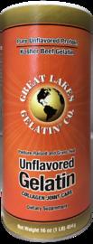 Great Lakes: Gelatin Unflavoured Kosher Beef Gelatin (454g) image