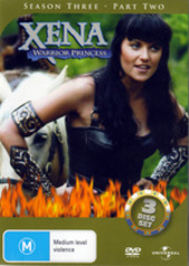 Xena - Warrior Princess: Season 3 - Part 2 (3 Disc Set) on DVD