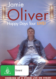 Jamie Oliver Happy Days Tour - Live! on DVD image