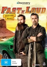Fast N' Loud: Mustang Mania on DVD