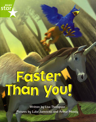 Fantastic Forest Green Level Fiction: Faster than You! by Lisa Thompson image