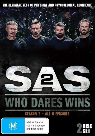 SAS: Who Dares Wins - Season 2 on DVD image