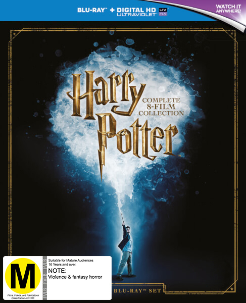 Harry Potter: The Complete Collection on Blu-ray image