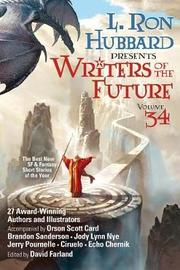 Writers of the Future Volume 34 by L.Ron Hubbard