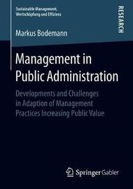 Management in Public Administration by Markus Bodemann