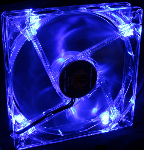 120mm LED Fan - Blue