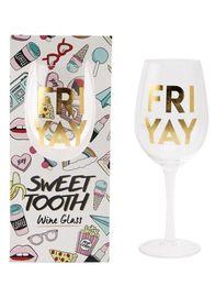 FRI-YAY Wine Glass