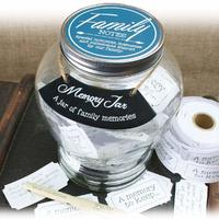 Memory Keepsake Jar - Family