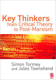 Key Thinkers from Critical Theory to Post-Marxism by Simon Tormey image