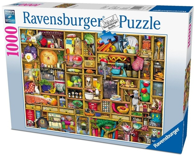 Ravensburger 1000 Piece Jigsaw Puzzle - The Kitchen Cupboard
