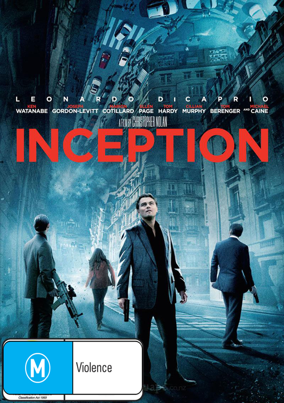 Inception on DVD