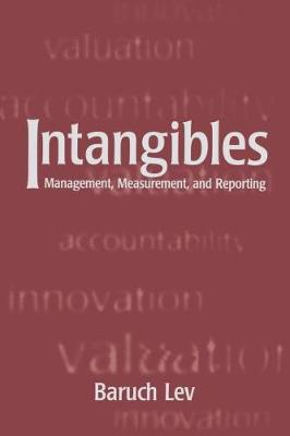 Intangibles by Baruch Lev image