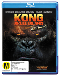 Kong: Skull Island on Blu-ray