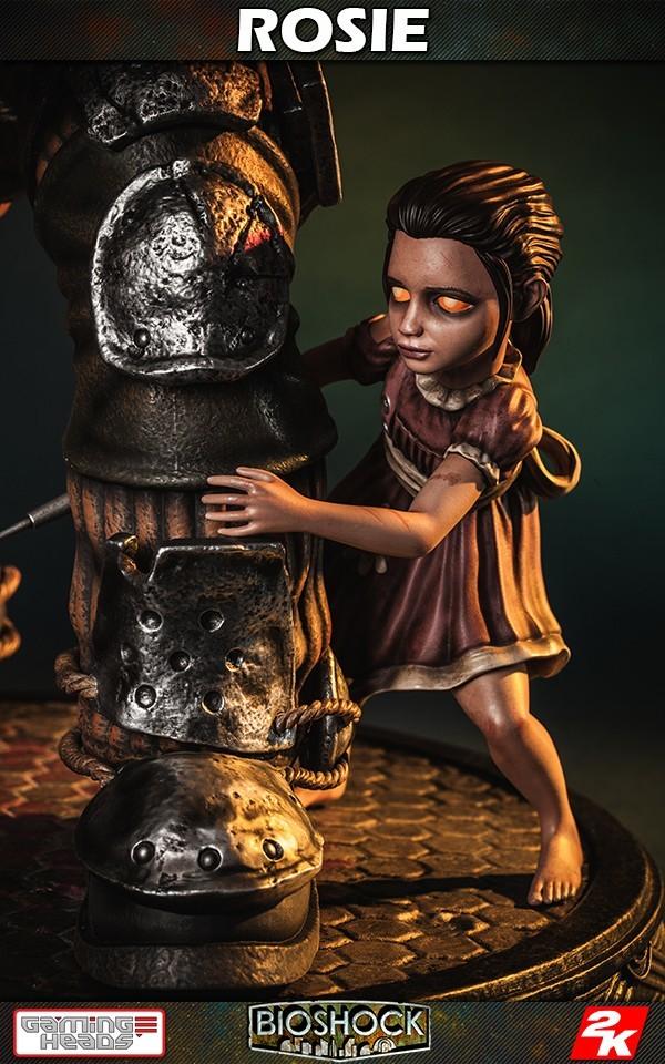 Bioshock: Big Daddy (Rosie Ver ) - 1:4 Scale Statue