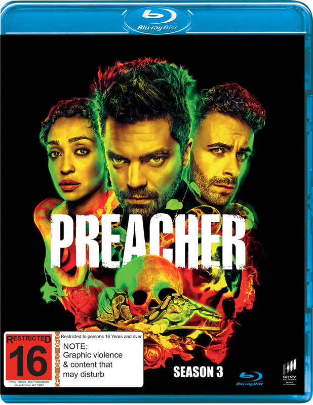 Preacher Season 3 on Blu-ray