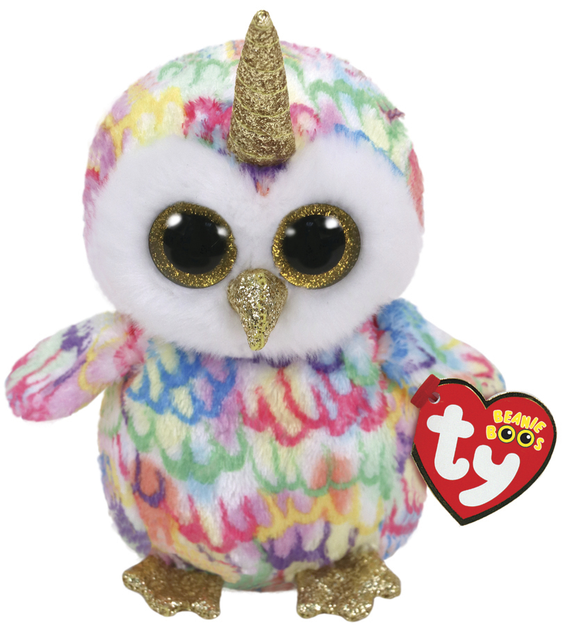 Ty Beanie Boo: Enchanted Owl - Small Plush image