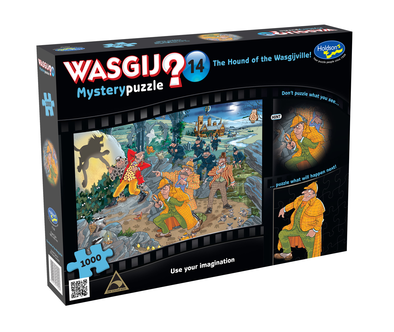 Wasgij: 1000 Piece Puzzle - Mystery (Hound Of The Wasgijville) image