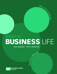 English for Business Life - Pre Inermediate - Trainers Manual by Ian Badger image