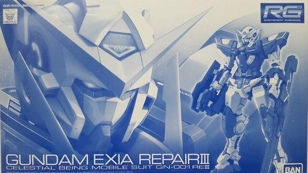RG 1/144 Gundam Exia Repair 3 - Model Kit
