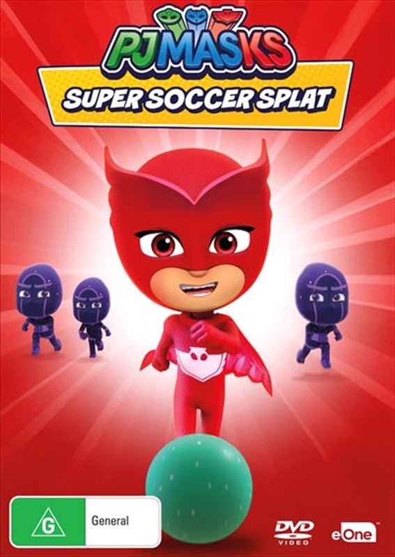 PJ Masks: Super Soccer Splat on DVD