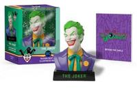 The Joker Talking Bust And Illustrated Book by Matt Manning