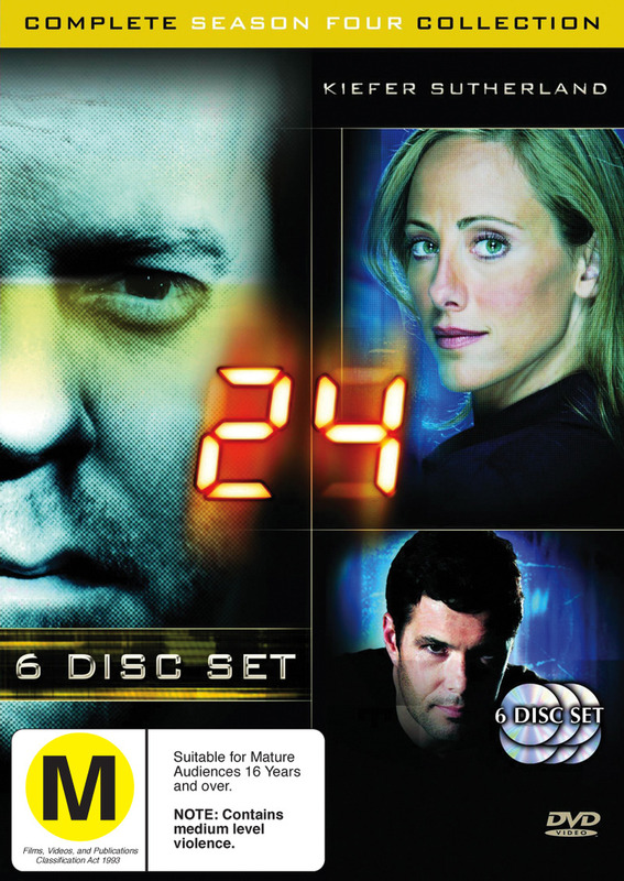 24 - Season 4 (6 Disc Set) on DVD