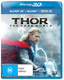Thor: The Dark World 3D DVD