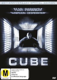 Cube: 20th Anniversary Special Edition on DVD