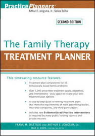 The Family Therapy Treatment Planner by Frank M Dattilio image
