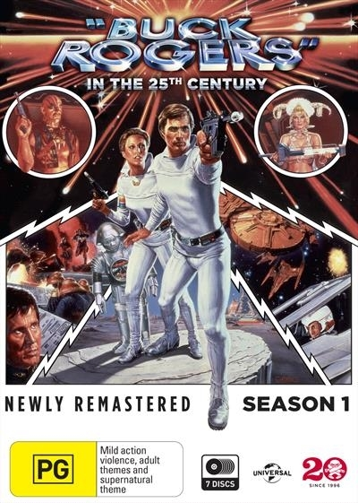 Buck Rogers In The 25th Century - Season One on DVD image